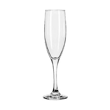 Libbey- Flute Glass, 6 oz., tall, 12/Case (3796/69292)