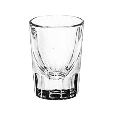 Libbey- Whiskey Shot Glass, 1-1/2 oz., fluted 48/Case (5127)