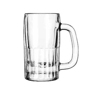 Libbey- Beer Mug, 10 oz., glass, clear 12/Case (5362)