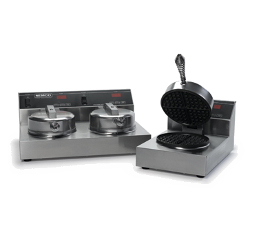 Nemco - Dual Aluminum-Grid Waffle Baker | Public Kitchen Supply