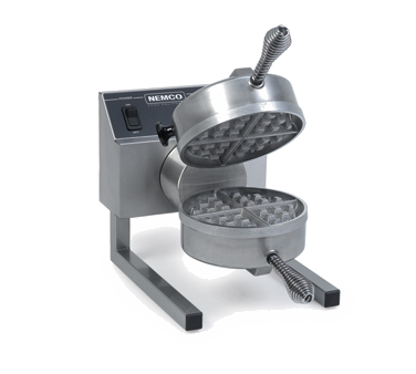 Nemco - Fixed Grids Belgian Waffle Baker | Public Kitchen Supply