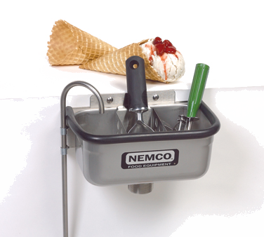 "Nemco - 10"""" Ice Cream Spade Well 