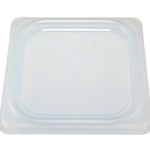 Cambro - Sixth 1/6 Size Food Pan Seal Cover White | Public Kitchen Supply