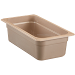 "Cambro - 1/3 Size x 4"""" High Heat Food Pan 