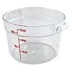 Cambro - 12 Qt Round Storage Container w/Handle | Public Kitchen Supply