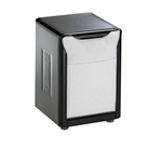 San Jamar - Lowfold Tabletop Napkin Dispenser (Black)| Public Kitchen Supply
