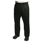 Chef Revival - Black Baggy Pants (L) | Public Kitchen Supply