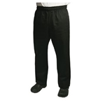 Chef Revival - Black Baggy Pants (XL) | Public Kitchen Supply
