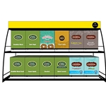 Keurig - Wire Table Display Rack (12/Sleeve) | Public Kitchen Supply