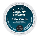 Cafe Escapes - Cafe Vanilla Retail K-Cups (72 ct) | Public Kitchen Supply