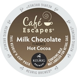 Cafe Escapes - Milk Chocolate Hot Cocoa Retail K-Cups (72 ct) | Public Kitchen Supply