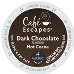 Cafe Escapes - Dark Chocolate Hot Cocoa Retail K-Cups (72 ct) | Public Kitchen Supply