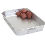 Carlisle - Aluminum 11 X 17 Bake Pan w Drop Handles | Public Kitchen Supply
