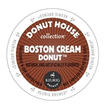 Donut House - Boston Cream Donut Retail K-Cups (72 ct) | Public Kitchen Supply