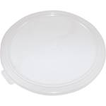 Cambro - 6 & 8 Qt Round Storage Container Cover (Clear) | Public Kitchen Supply