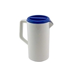 Tablecraft - 2 Qt. Plastic Pitcher W/Lid | Public Kitchen Supply