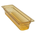 "Cambro - 1/2 Size Long x 4"""" Deep High-Heat Food Pan  