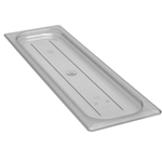 Cambro - Half 1/2 Size Long Food Pan Cover Clear | Public Kitchen Supply