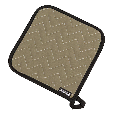 "San Jamar - 8x8"""" BestGuard Terry Cloth Pot Holder