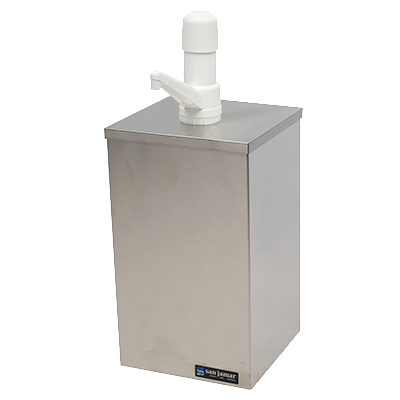 San Jamar – EZ-Chill Condiment Pump Boxes (1 Gal)| Public Kitchen Supply