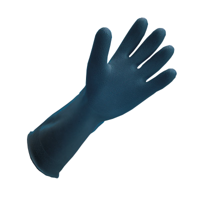 "San Jamar - 17"""" Heavy Duty Rubber Glove 
