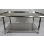 Iron Guard-SS Equipment stand 30 X 60 X 24 304SS 16GA | Public Kitchen Supply