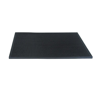 Update International - Black Bar Service Mat | Public Kitchen Supply