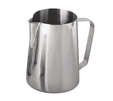 Update International - 12 oz Espresso Milk Pitcher (SS) | Public Kitchen Supply