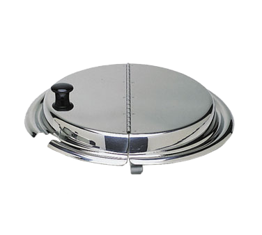 Update International - Stainless Hinged Inset Cover | Public Kitchen Supply