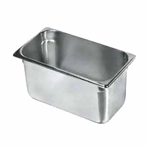 "Update International - 1/3 Size x 6"" Deep Food Pan (SS) 