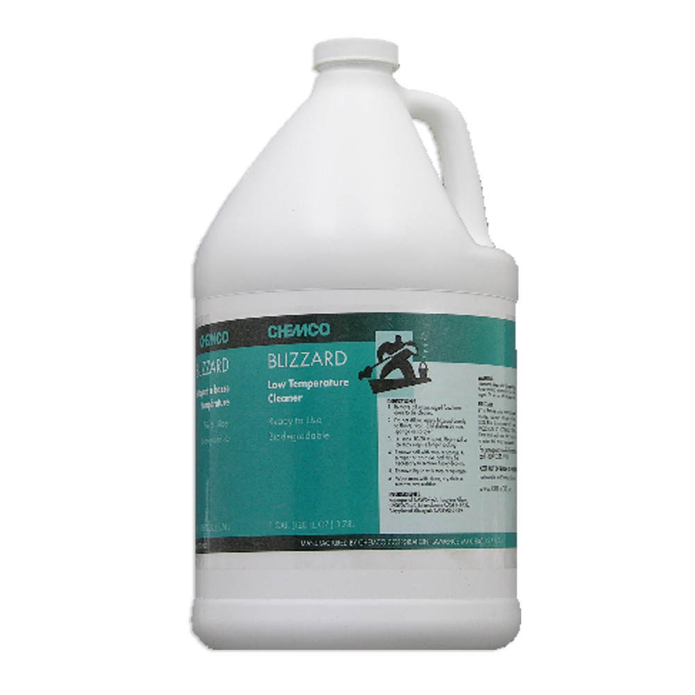 Chemco - Blizzard Low Temperature Cleaner | Public Kitchen Supply